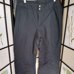 Black Columbia Omni Shield snow pants, NWOT, Med
